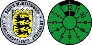 Stuttgart city sticker