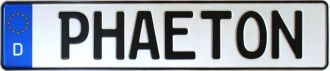 10 German License Plates