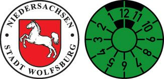 Wolfsburg city sticker